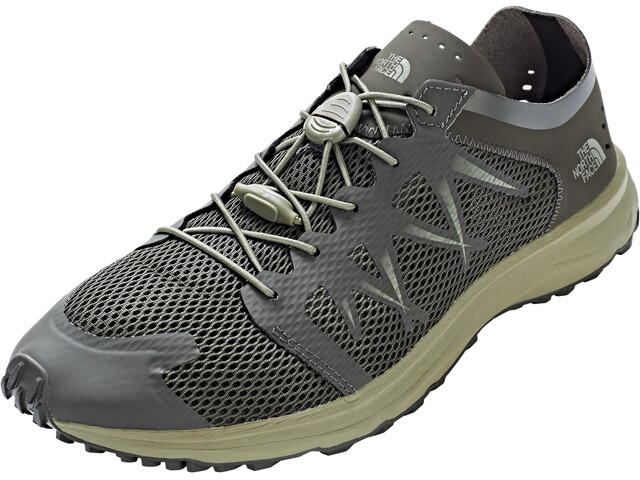 The North Face Litewave Flow Lace Shoes Herr black ink green/four leaf clover